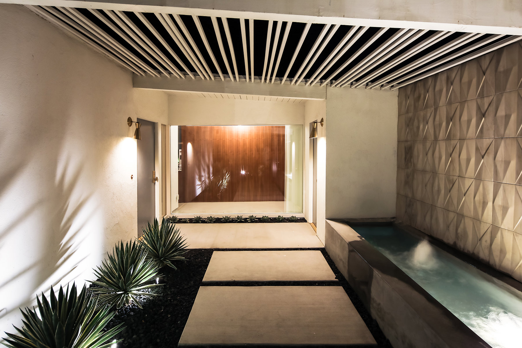 12 EXTERIOR COURTYARD NIGHT AFTER