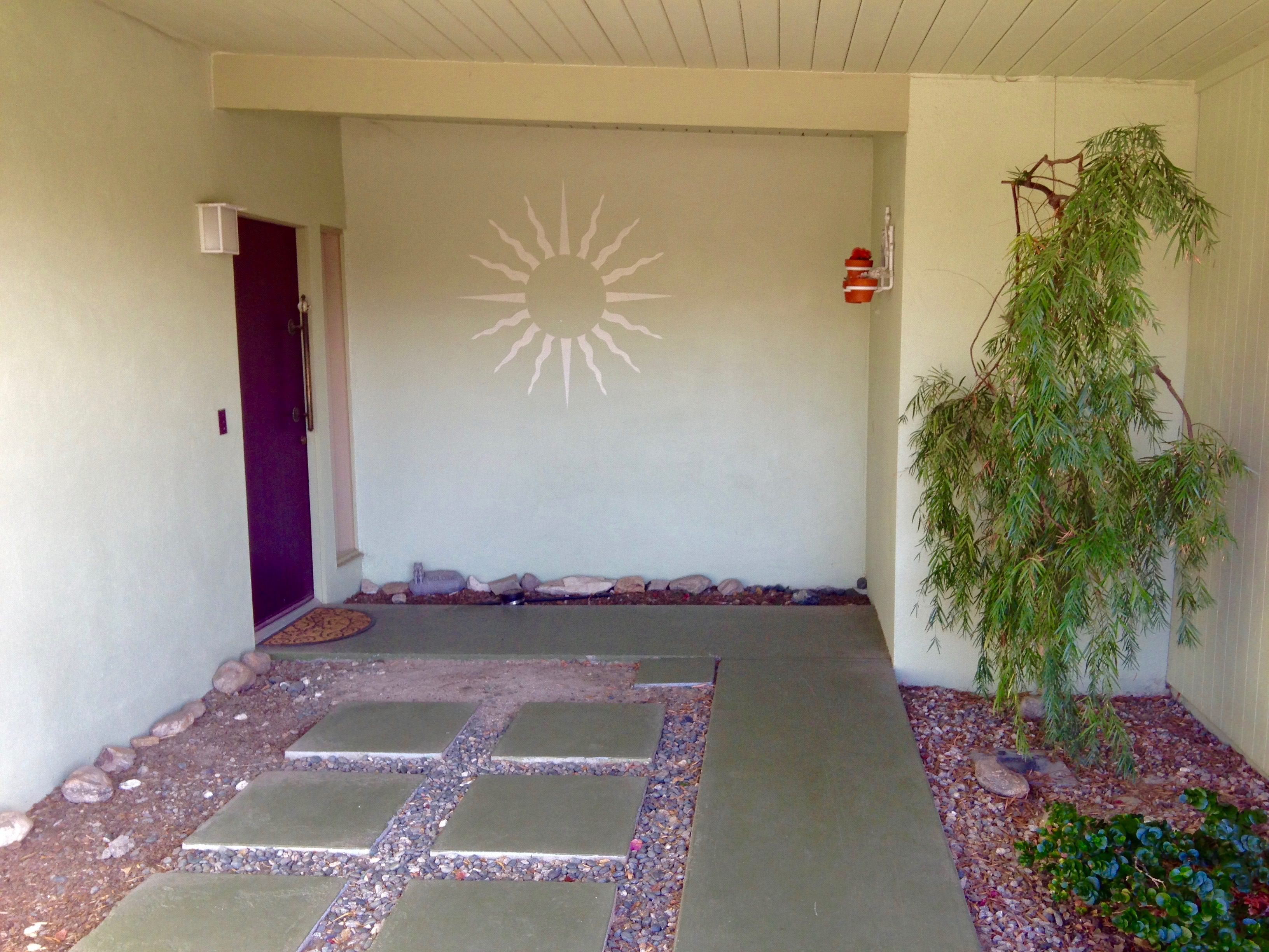5 EXTERIOR COURTYARD BEFORE